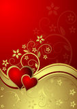 Heart. Beautiful Valentine's Day illustration Royalty Free Stock Photo