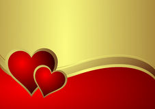 Heart. Beautiful Valentine's Day illustration Stock Images