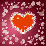 Heart. This graphic is decoration heart Royalty Free Stock Photo