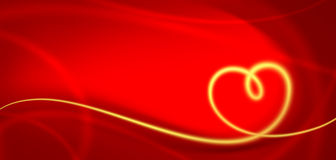 Heart. Bitmap images on Valentine's Day or weddings Royalty Free Stock Images