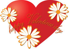 Heart. Love illustrations Stock Photos