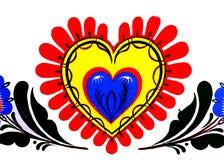 Heart. Street art graffiti royalty free illustration