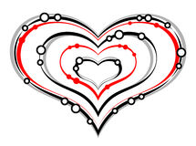 Heart. On a white background vector illustration