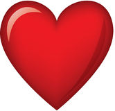 Heart. Valentine ,love , red ,romance Royalty Free Stock Photography