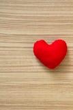 Heart. Shape on wood floor royalty free stock photos