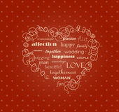 The heart Royalty Free Stock Images