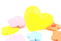 Heart. Heart on white background./Heart Royalty Free Stock Images