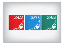 Heart. Valentine greeting card with heart and text Royalty Free Stock Photos