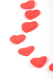Heart. Symbol on a white background Valentine Stock Photo