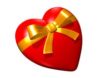 Heart. Gift Stock Photos