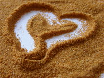 Heart. A heart made from spice stock image