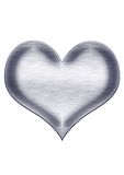 Heart. Under the background of white vector illustration