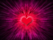 Heart abstract. Digitally created heart background Stock Images