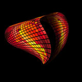 The heart abstract background Royalty Free Stock Images