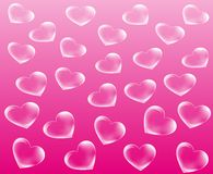 Heart abstract background Stock Images