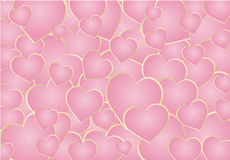 Heart abstract background Royalty Free Stock Photos