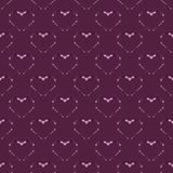 Heart abstract background seamless pattern. Vector background vector illustration