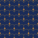 Heart abstract background seamless pattern Royalty Free Stock Photo