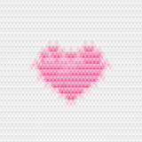 Heart abstract background triangle template Stock Photo