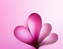 Heart on abstract gradient background royalty free stock photography