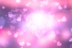 Heart  abstract  light background Royalty Free Stock Image