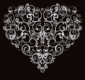 Heart, abstract pattern Stock Photos