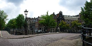 In the heart of Amsterdam royalty free stock photo