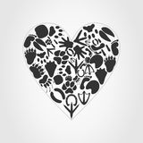 Heart of an animal Royalty Free Stock Images