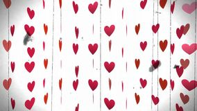 Heart,animation,Valentines day. Heart,best animation,Valentines day stock video footage