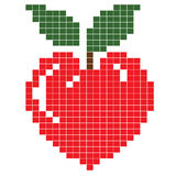Heart -apple Stock Photos