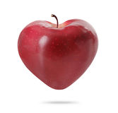 Heart  apple Stock Photo