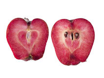 Heart Of the Apple Royalty Free Stock Images