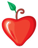 Heart apple Stock Images