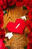 Heart with arrow Stock Photo