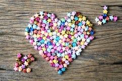 Heart with arrow Stock Image