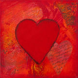 Heart artwork Stock Images