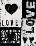 Heart artwork Royalty Free Stock Image