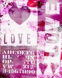 Heart artwork Stock Photos