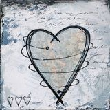 Heart artwork Royalty Free Stock Images