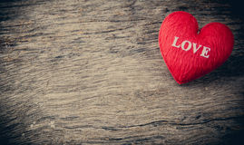 Heart as a symbol of love, valentin's day Royalty Free Stock Photography