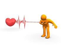 Heart Attack Royalty Free Stock Photo