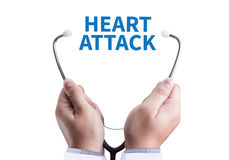 HEART ATTACK disease symptoms, medical Heart Attack Signs and Sy Stock Images