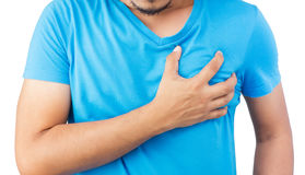 Heart attack Royalty Free Stock Images