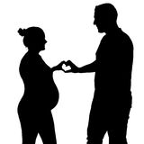 Heart for a baby Stock Image