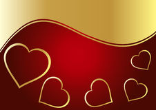Free Heart Background Royalty Free Stock Photos - 10776808