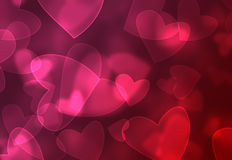 Heart background royalty free illustration