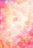 Heart background. Holiday abstract heart background background, digital art royalty free illustration