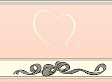 Heart background Royalty Free Stock Photos