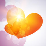 Heart background Royalty Free Stock Photography