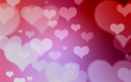 Heart background. Abstract colorful heart shape background Stock Images